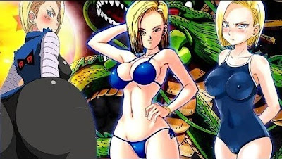 Androide 18 Dragon Ball Z GT