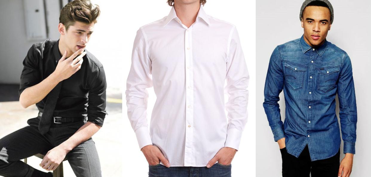 e8a6d06a4 Exemplo de camisas – com o seu estilo você pode escolher a cor que melhor  lhe favorece