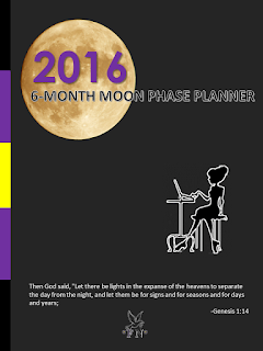 6 Month Moon Phase Planner