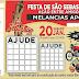 BINGO DA FESTA DE SÃO SEBASTIÃO - DISTRITO DE MELANCIAS/APODI-RN