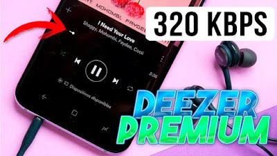 Deezer Premium Música en 320kbps gratis (y legal) en cualquier parte, desde tu móvil