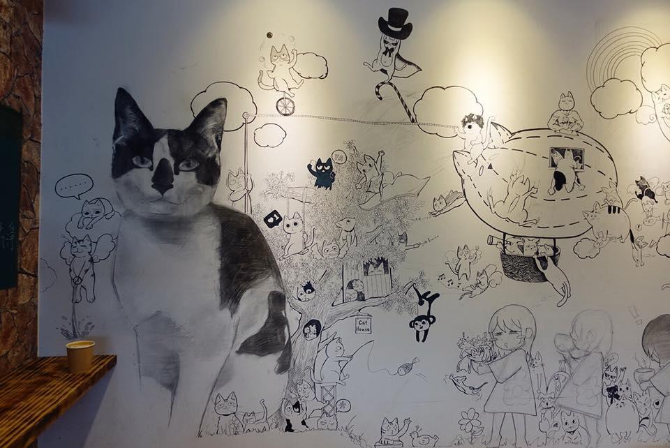 雲林斗南《丸咖啡外帶吧》咖啡平價好喝 #貓奴會愛死這地方 #店裡只賣咖啡可帶外食