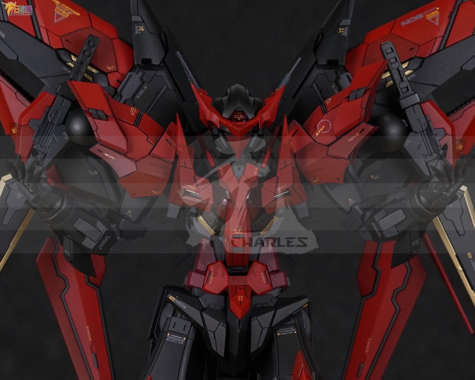 Custom Build: MG 1/100 Gundam Exia Dark Matter [Infinite ...