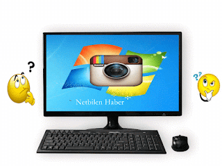 Instagram photo upload videos from a computer image