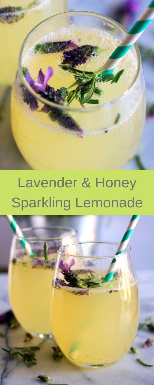 Lavender & Honey Sparkling Lemonade