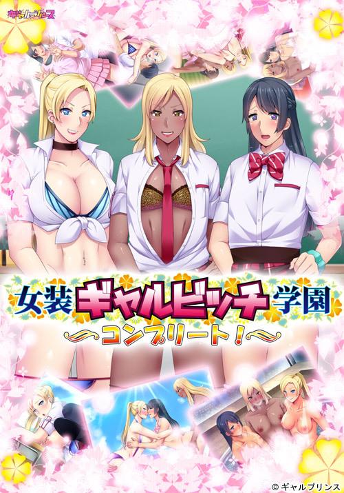 [H-GAME] Transvestite girl bitch school complete! JP