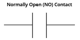 normaly open NO