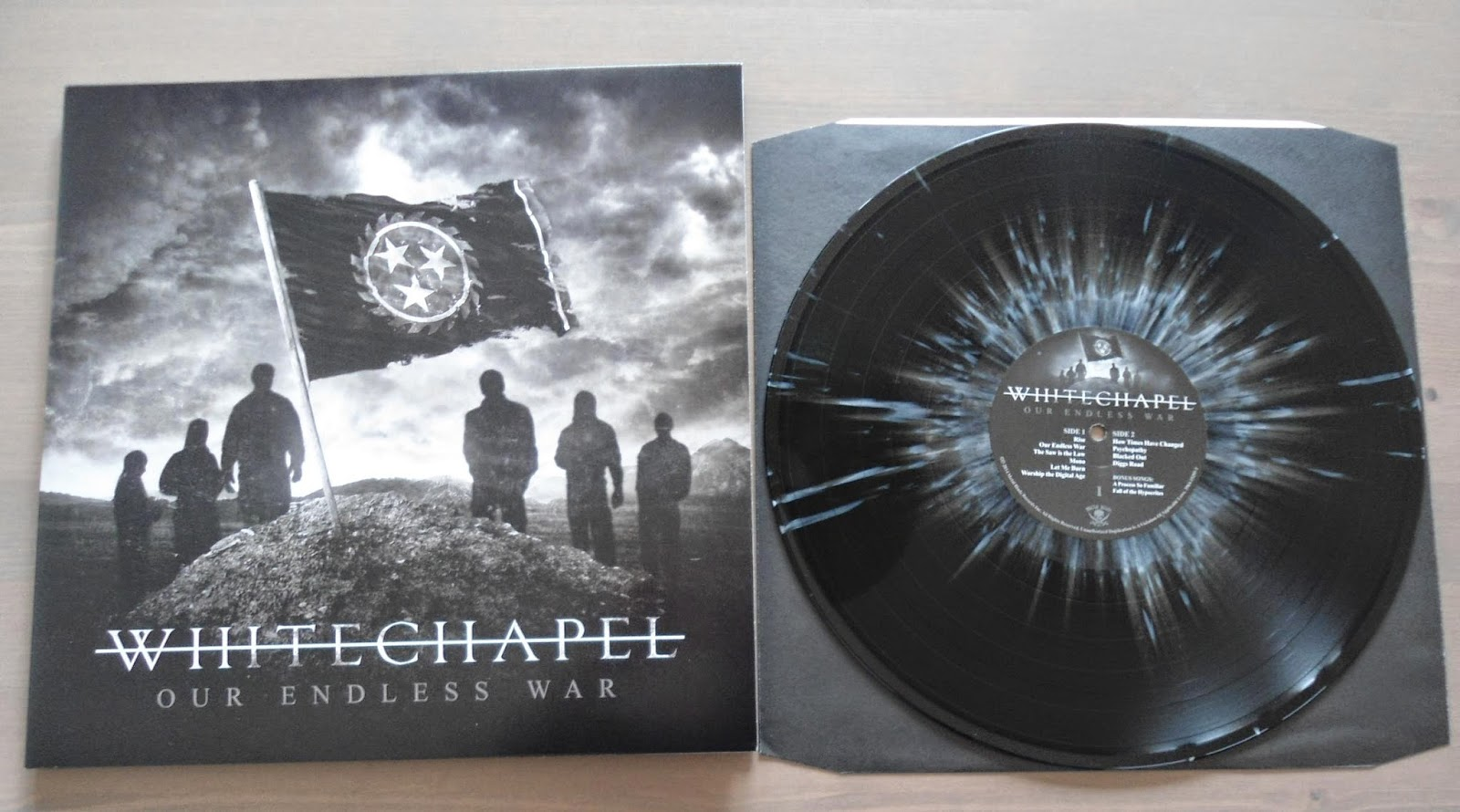 Hardcore Metal Vinyl Whitechapel Our Endless War
