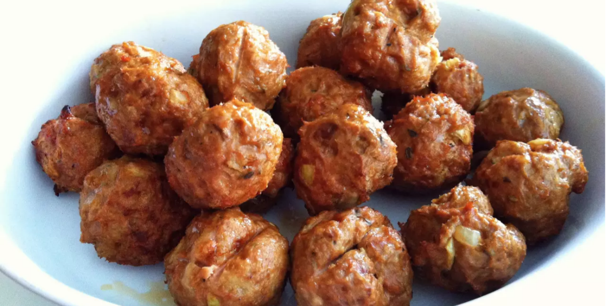 Beef, Meatballs Dog Treats