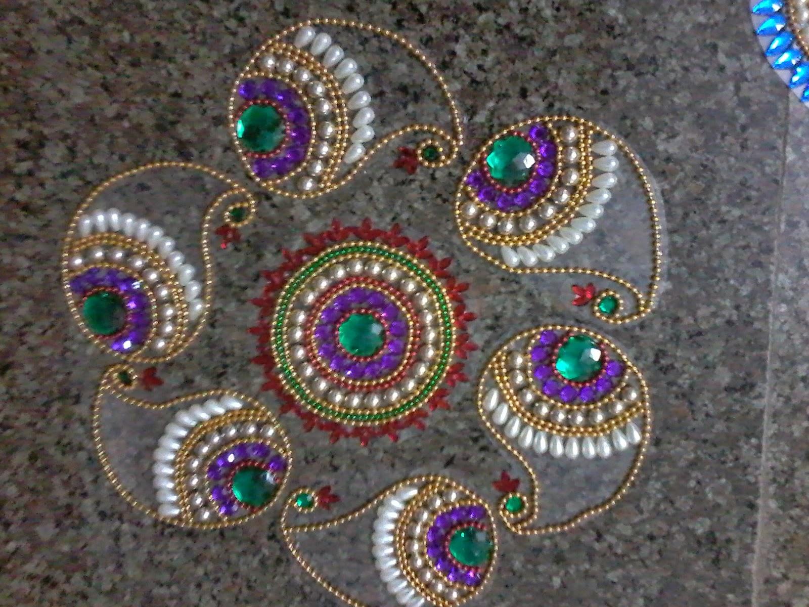 bling art  bling arts: colours of peacock