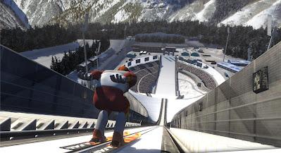 تحميل لعبة قفزات التزلج الممتعة Ski Jumping Pro مهكرة للأندرويد آخر إصدار