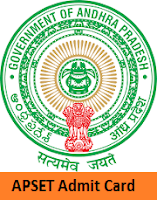 Andhra Pradesh SET Admit Card