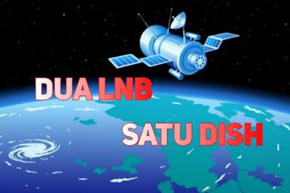 Cara Menggabungkan Satelit Telkom 4 dan Asiasat7 (Channel India) dengan Mudah