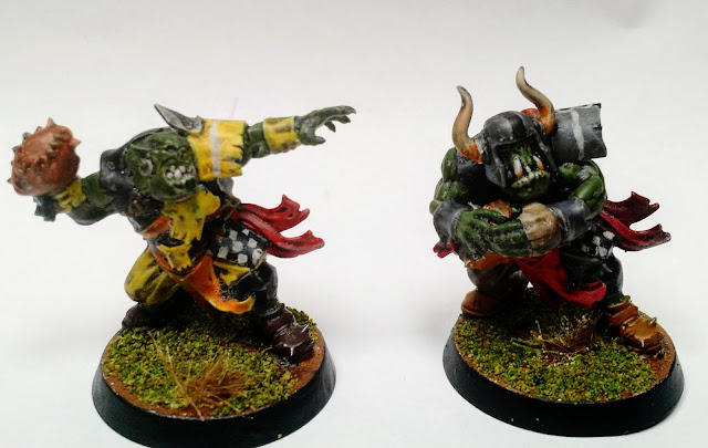 Orcland Raiders, Stealers, Bloodbowl, Thrower