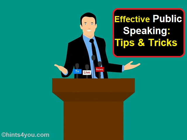 Here are different methods which will assist you in how to master the art of public speaking: