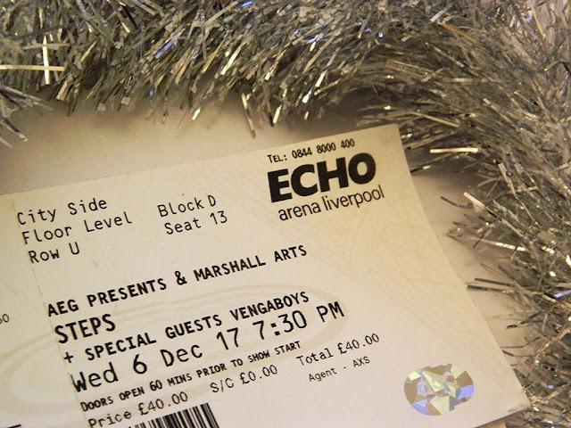 Steps & Vengaboys at Liverpool Echo Arena