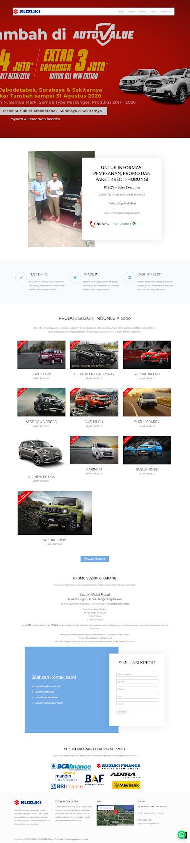 Klien Kami Dealer Suzuki Mobil Cikarang