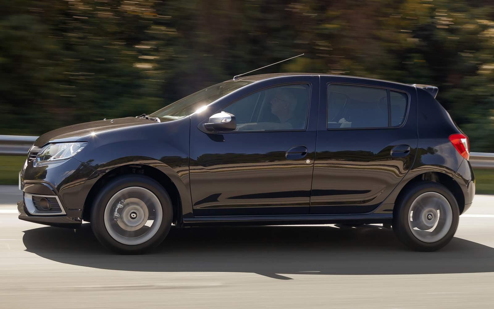 Renault Sandero - 3º carro mais vendido em junho