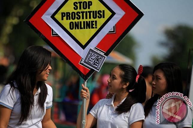 Mahasiswi jadi germo daring ditangkap