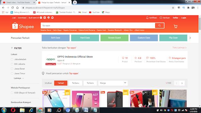 kredit hp online di shopee