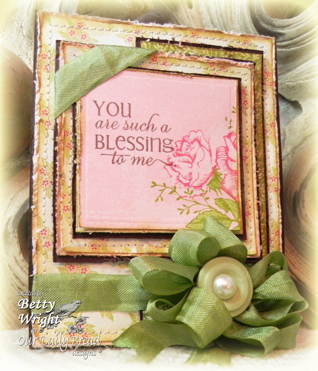You Are Such A Blessing To Me C4c151 The Things I Do With Paper
