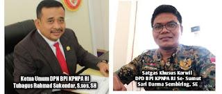 BPI KPNPA RI Bentuk Satgas Korwil Anti Pungli, Tipikor Dan Mafia Tanah Disetiap Provinsi