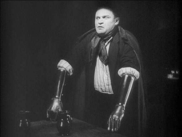 Fritz Kortner - The Hands of Orlac (1924)