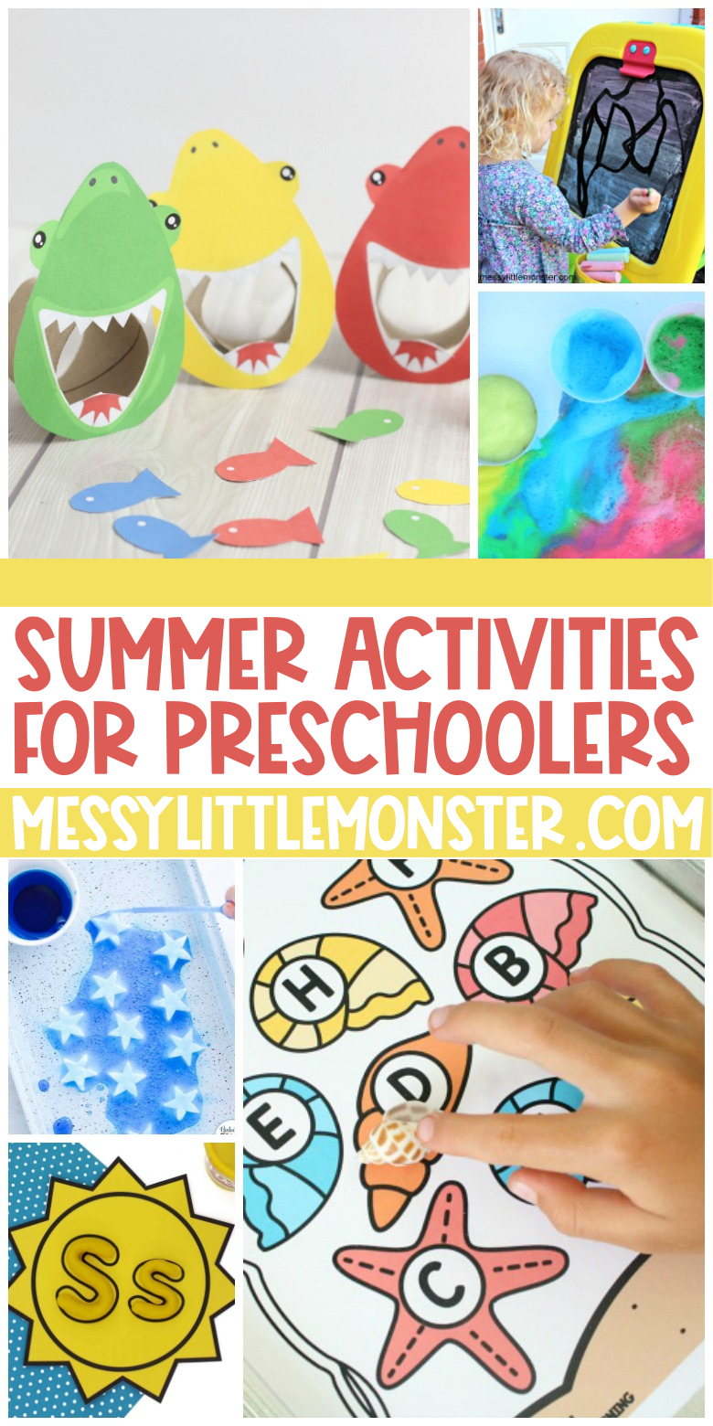 Summer activities for preschool