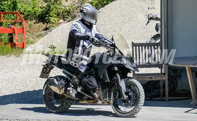 BMW R1300GS Spotted   First Look, Review, Specification And Photos   Spy Shoot