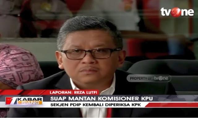 Periksa Hasto PDIP, KPK Kantongi Bukti Percakapan Elektronik