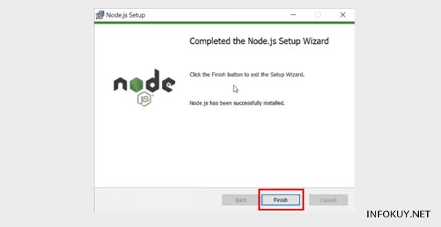 Cara Install Node.js di Window #9
