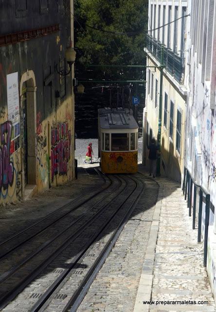 los funiculares de Lisboa