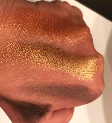 swatched Palette Rose Golden de Zoeva