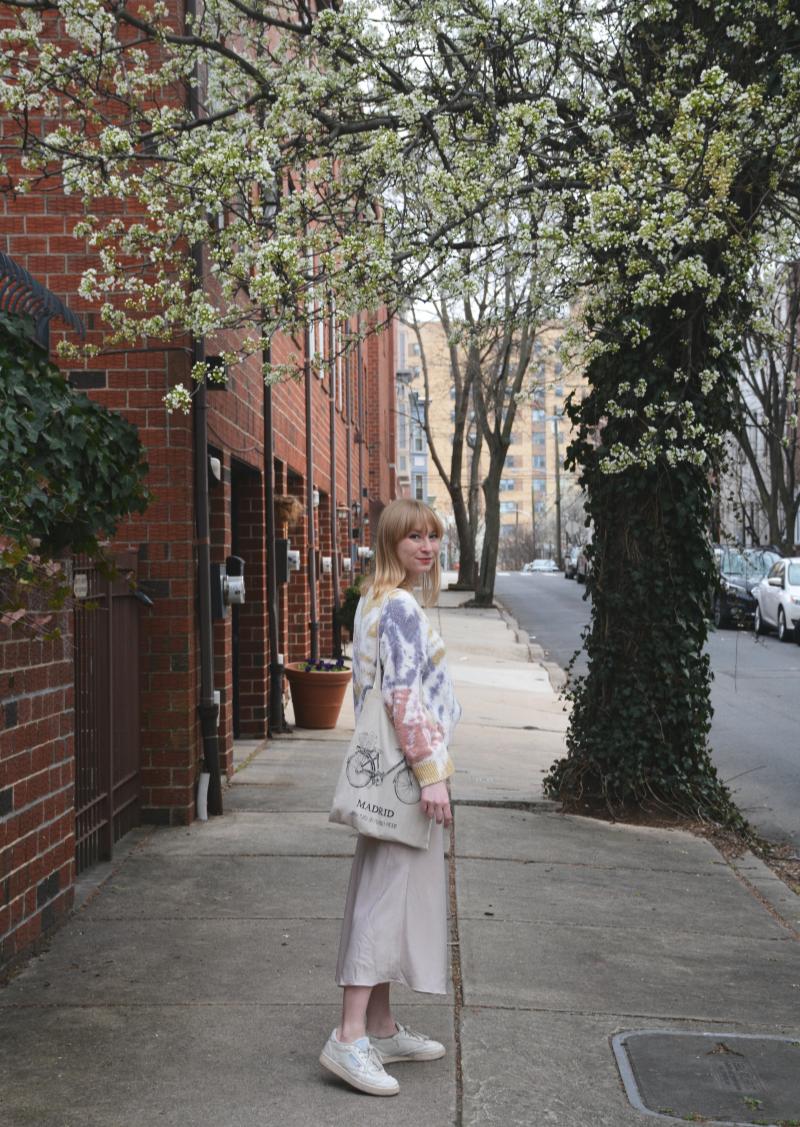 Sweater and Slip Skirt