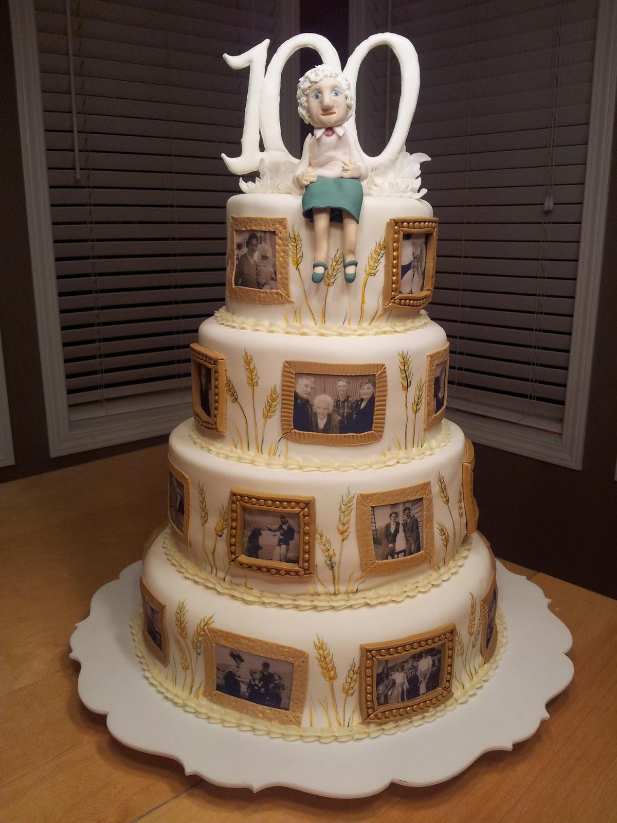 Kiddles N Bits 100th Birthday Cake
