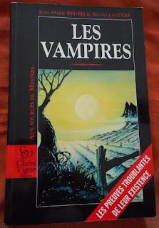 """Couverture de """"Les Vampires"""", de Jean-Marie Beurq et Bruno Lapeyre"""