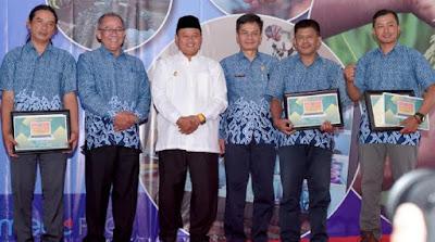 Jambore Pos Penyuluh Desa di Lembang, Kabupaten Bandung Barat, Selasa (24/9/2019)