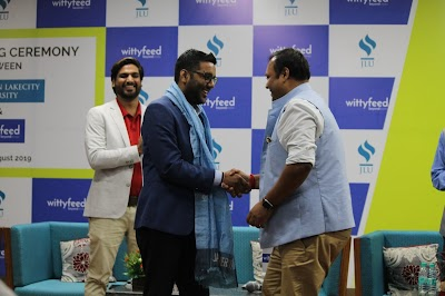 JLU Wittyfeed Centre of New Media launched by Jagran Lakecity University and Wittyfeed