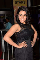 Wamiqa Gabbi in a sleeveless Black Designer Transparent Gown at 64th Jio Filmfare Awards South ~  Exclusive 017.JPG