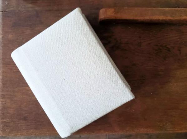 fabric covered album