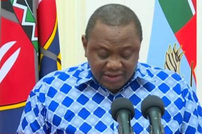 President Uhuru Kenyatta imposes a Coronavirus curfew