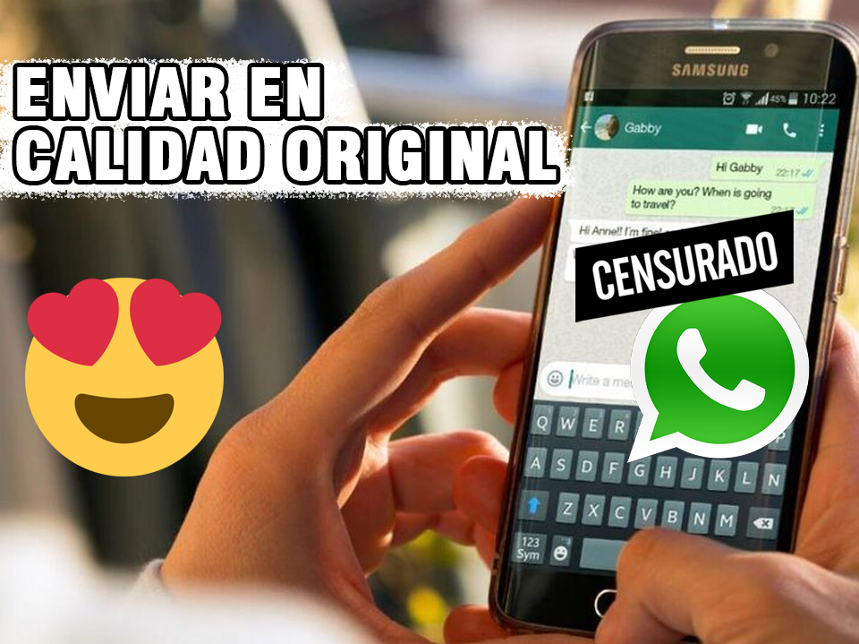 como enviar fotos en buena calidad por whatsapp