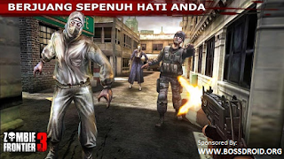 Download Zombie Frontier 3 Mod v1.67 APK Android Terbaru