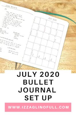 July-2020-Bullet-Journal