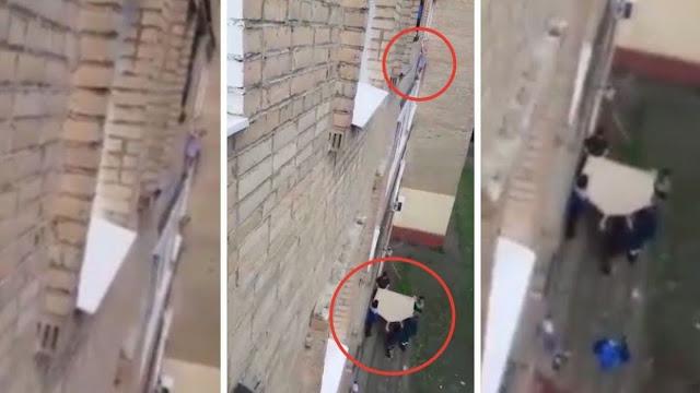 Соседи спасли ребенка, выпавшего из окна, пока его нетрезвая мать спала