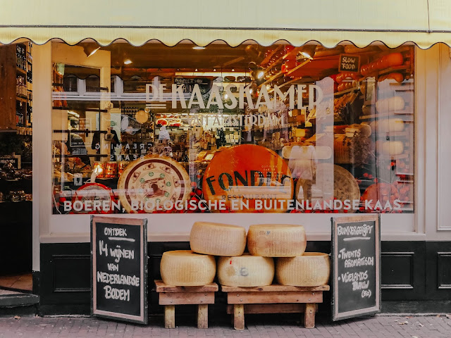 Amsterdam De Kaaskamer cheese shop review