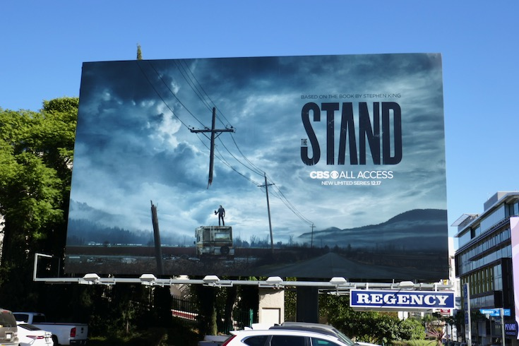Stand series premiere billboard