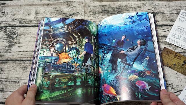 ART書櫃 Book Review: 六七質插畫作品集:層窟祭 / 六七質アートワークス 層窟祭