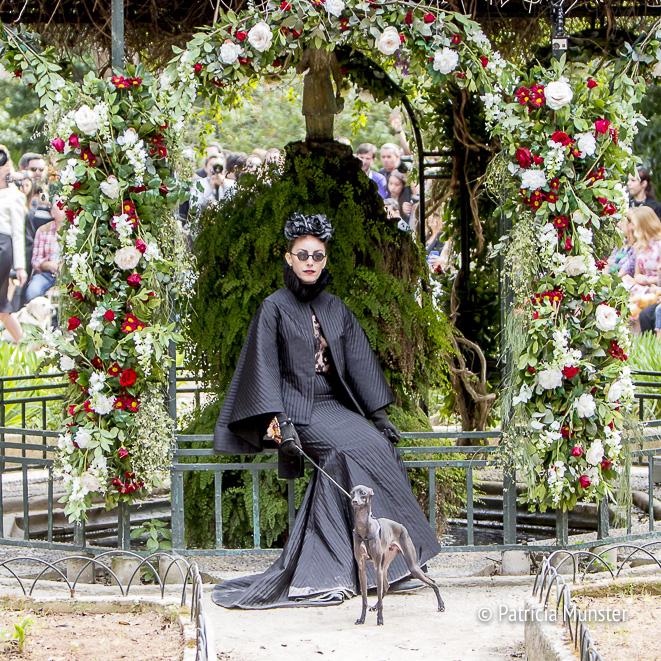 """Mara Desypris """"Women in the garden' for Vassilis Zoulias"""