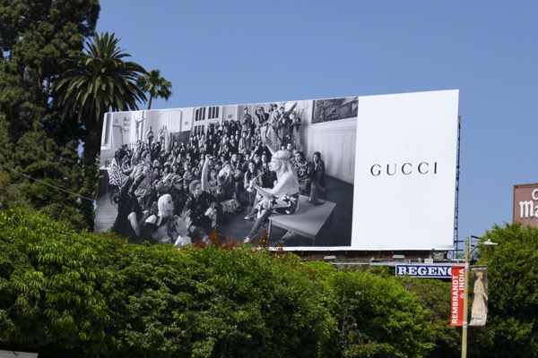 Gucci Summer 2018 fashion billboard